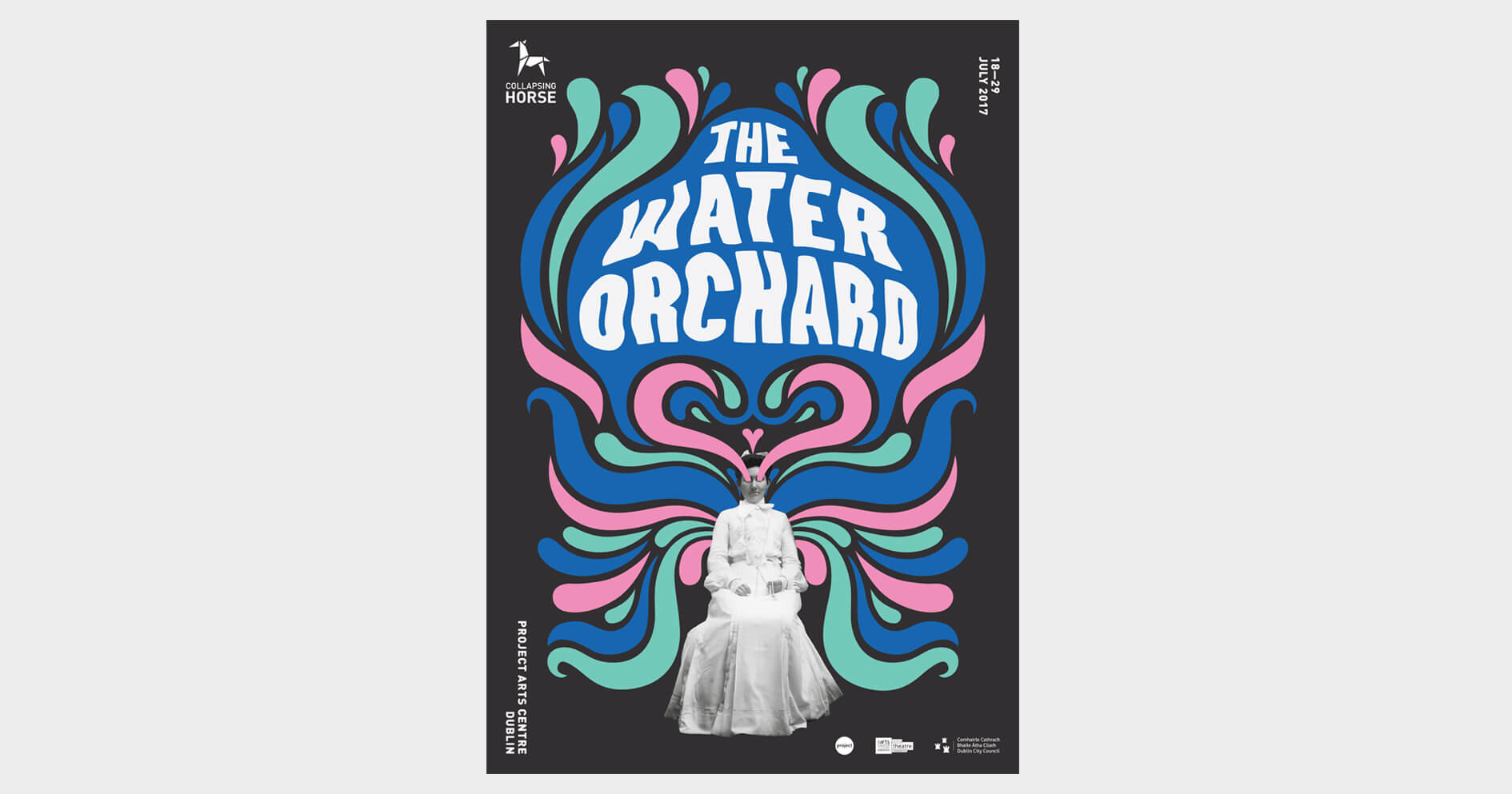 Collapsing Horse / The Water Orchard – Poster