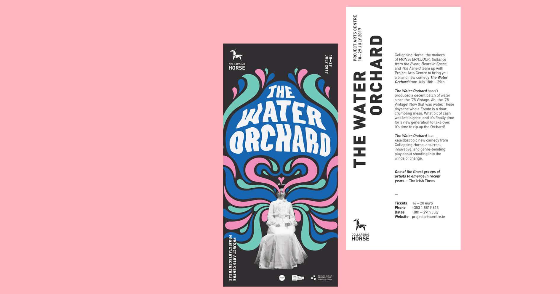 Collapsing Horse / The Water Orchard – Flyer